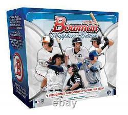 2020 Bowman Sapphire Edition Baseball Hobby Box Brand New Sealed Free Ship