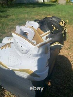 Air Jordan 7/6 Retro Golden Moments Pack(6/7) Deluxe Edition Brand New Size 13
