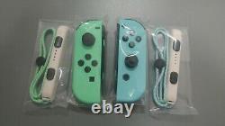 Animal Crossing Edition Joy-Cons Nintendo Switch Pastel Blue/Green BRAND NEW