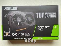 BRAND NEW ASUS TUF Gaming GeForce GTX 1650 OC Edition Graphics Video Card GPU