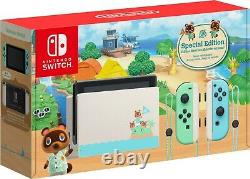 BRAND NEW Nintendo Switch Console Animal Crossing New Horizon Special Edition