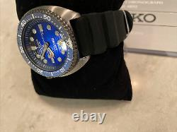 BRAND NEW Seiko PROSPEX Turtle SRPC91 Save the Ocean Blue Whale Special Edition