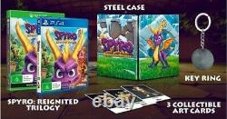 BRAND NEW Spyro Reignited Trilogy Special Edition G2 Steelbook Sony PS4