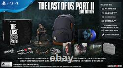 BRAND NEW The Last of Us Part 2 Ellie Edition Limited Collectors with Backpack