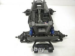 BRAND NEW Traxxas MAXX 4s 1/10 Roller Slider Chassis Blue Version with Extras