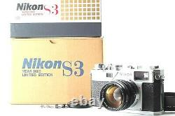 BRAND NEW UNUSED Nikon S3 2000 Limited Edition With 50mm F/1.4 From Japan #1357