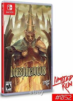 Blasphemous Special Edition Limited Run Games #052 Nintendo Switch Brand NEW