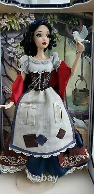 Brand New Disney Store 17 Limited Edition Snow White Rags Prince Evil Queen Doll