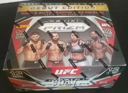 Brand New Factory Sealed 2021 Panini Prizm UFC Debut Edition Hobby Box