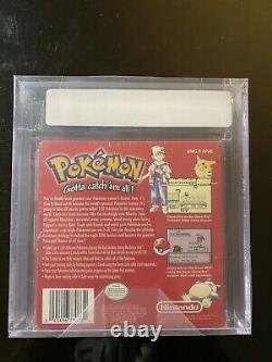 Brand New Factory Sealed Pokemon Red Version Game Boy VGA Graded 80 Silver