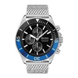 Brand New Hugo Boss Ocean Edition Stainless Steel Mens Watch Hb1513742