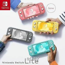 Brand New Nintendo Switch Lite Handheld Console GREY Colours EU Version