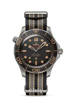 Brand New Omega Seamaster Diver 007 Edition 42mm No Time to Die Men's Watch