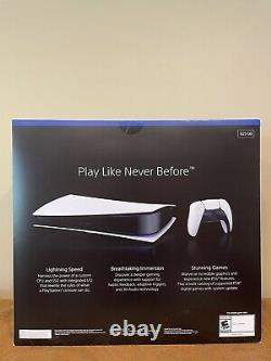 Brand New Sealed Sony Playstation PS5 Digital Edition Free Shipping In Hand