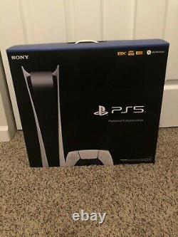 Brand New Sony PlayStation 5 PS5 Digital Edition Console IN HAND! SHIPS ASAP