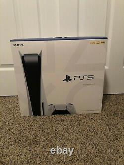 Brand New Sony PlayStation 5 PS5 Disc Edition Console IN HAND! FAST SHIP