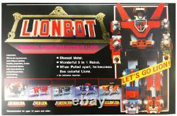 Brand New Voltron Lionbot 1980 Die Cast Taiwan Version Action Figure