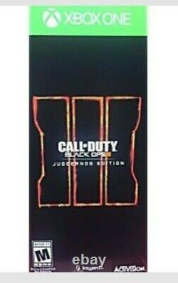 Call Of Duty Black Ops 3 Juggernog Edition Xbox One BRAND NEW