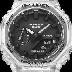 Casio G-Shock GA2100SKE-7A, Transparent CasiOak BRAND NEW 2021 LIMITED EDITION