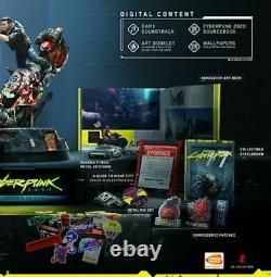 Cyberpunk 2077 Collectors Edition PS4 in stock Brand New