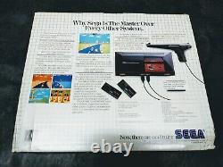FACTORY BRAND NEW! Sega Master System Original Launch Edition Console