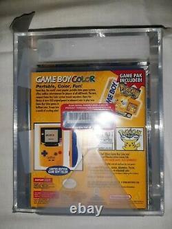 Game Boy Color Yellow Pokemon Edition Pikachu 1999 Vga wata brand new seal rare