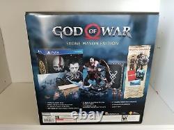 God of War Stone Mason's Edition PS4 Playstation 4 Brand new Mason