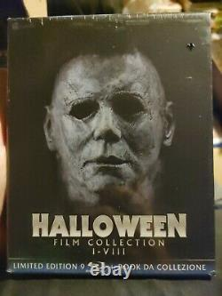 HALLOWEEN Film Collection Bluray 1-8 LIMITED EDITION Region B Import brand new