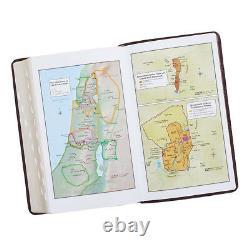 KJV Holy Bible King James version Dark Brown Thumb indexed Giant Print BRAND NEW