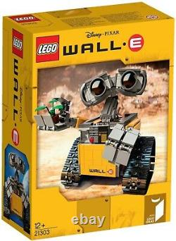 LEGO Ideas WALL-E 21303 Brand New & Factory Sealed 1st Edition Retired Set