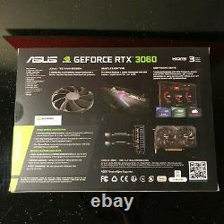 NVIDIA ASUS Dual GeForce RTX 3060 12GB OC EDITION Graphics Card BRAND NEW