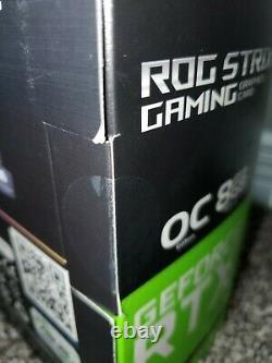 NVIDIA GeForce RTX 3070 ASUS ROG STRIX GAMING GPU OC Edition 8GB GDDR6 BRAND NEW