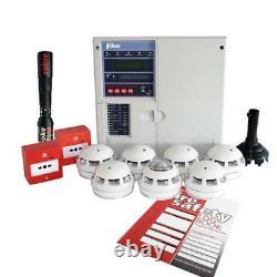 New Fike Twinflex pro² 4 Zone Fire Alarm Kit 604-0004. Brand new panel Version