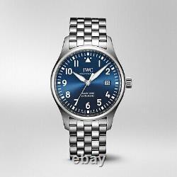 New IWC Pilots Watch Mark XVIII Edition Le Petit Prince Blue Watch IW327016