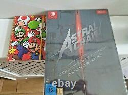 Nintendo Switch ASTRAL CHAIN Collector's Edition UK Game Brand New and Sealed