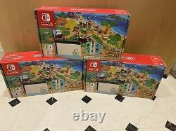 Nintendo Switch Animal Crossing Console Bundle Limited Edition Brand New