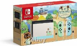 Nintendo Switch Console Animal Crossing New Horizons Special Edition Brand New