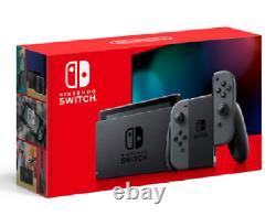 Nintendo Switch Console Grey Joy-Con New Enhanced Battery Version(HAD) Brand New