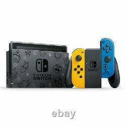 Nintendo Switch Fortnite Bundle Wildcat Edition Yellow Blue Joy Cons BRAND NEW
