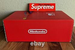Nintendo Switch Mario Red & Blue Edition Console with Carrying Case Brand New