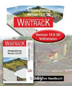 Original Wintrack Vollversion 15.0 3D inkl. Handbuch ++ Brandneu