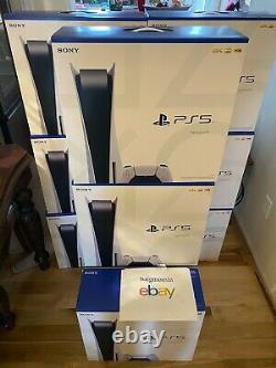PS5 Sony PlayStation 5 Console Disc Version BRAND NEW SHIPS TODAY UPS EXPEDITED