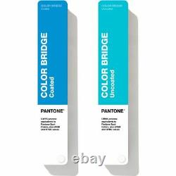Pantone GP6102A Color Bridge Guides Coated & Uncoated BRAND NEW 2020 Edition