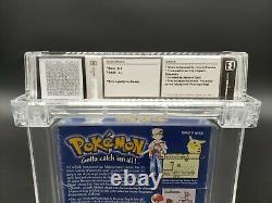 Pokemon Blue Version (Game Boy, 1998) Wata Graded 8.5 Sealed Brand New RARE