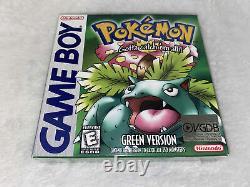 Pokemon Green Nintendo Game Boy Gameboy BRAND NEW, SEALED VGDB Edition
