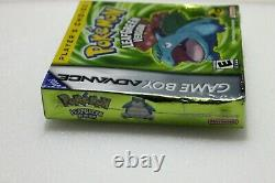 Pokemon Leaf Green Version (Game Boy Advance 2004) Brand New Factory Sealed NIB