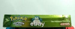 Pokemon Leaf Green Version (Game Boy Advance GBA, 2004) BRAND NEW Factory Seal
