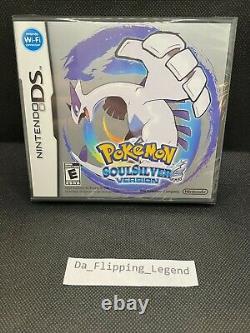 Pokemon SoulSilver Version (DS, 2010) Brand New sealed