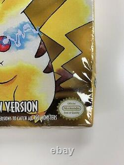 Pokemon Special Pikachu Edition Yellow Gameboy Game Brand New Original Owner
