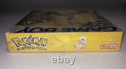 Pokemon Yellow Version (Nintendo Game Boy, 1999) Brand NEW FACTORY SEALED RARE